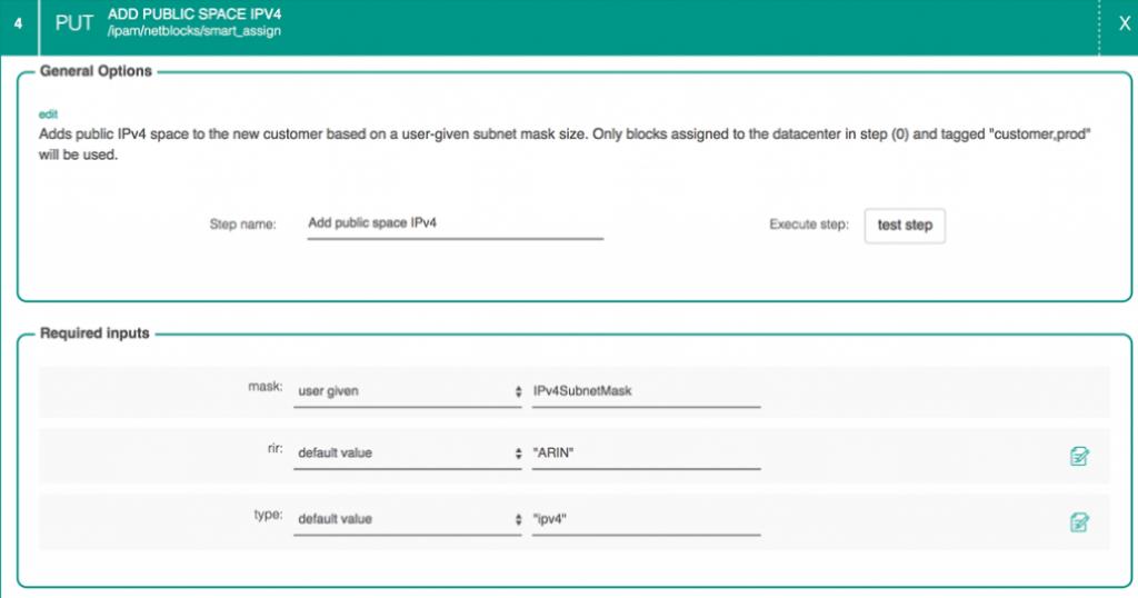 Screenshot: Workflows